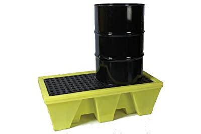 2-drum poly spill pallet 31-1257 by Lubetech
