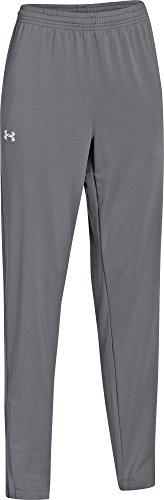 (Under Armour Kids Boys UA Futbolista Soccer Pants (Big Kids), Graphite/White XL (18-20 X One Size)