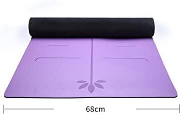 Antideslizante Yoga Mat --- Natural De Caucho Yoga Mats ...