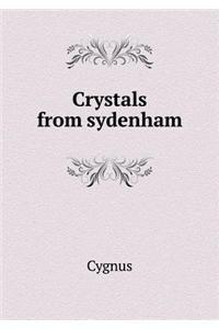 Crystals from sydenham pdf