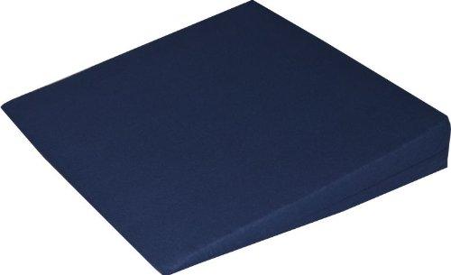 Orthopädisches Keilkissen Kissen Sitzkissen Sitzkeilkissen Sitzkissen Sitzkeil mit 100 % Baumwollbezug! (dunkelblau)
