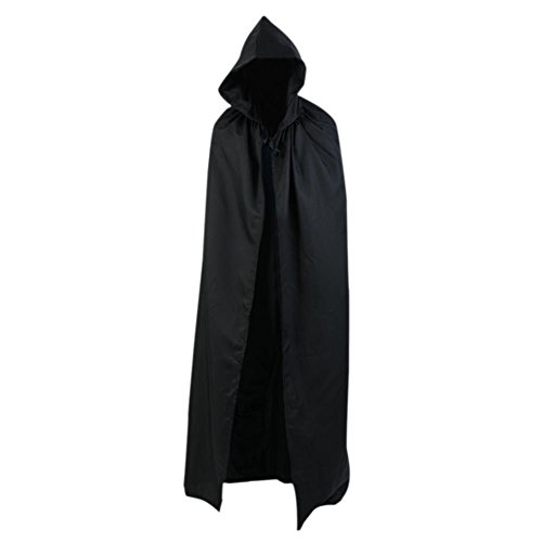 Smartcoco Halloween Cosplay Hooded Sleeveless Cloak Adult Halloween Party Costumes Capes(S-XXL) - Arwen Riding Costume