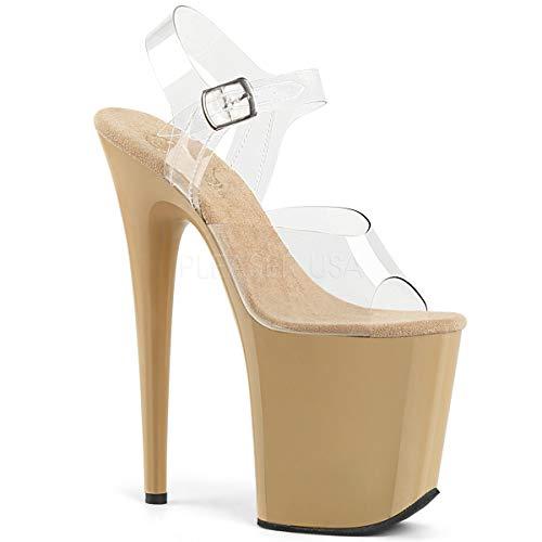 (Pleaser Women's Flamingo-808 Ankle-Strap Sandal)