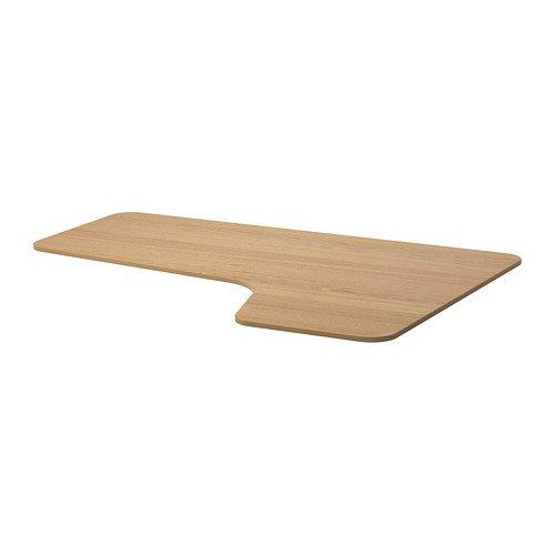IKEA BEKANT - Derecho a mano mesa de la esquina superior, chapa de ...