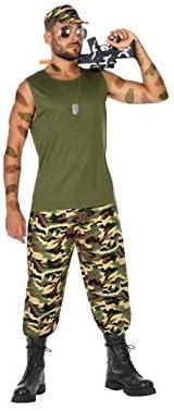 Atosa-54127 Disfraz Militar, Color Verde, XS-S (54127: Amazon.es ...