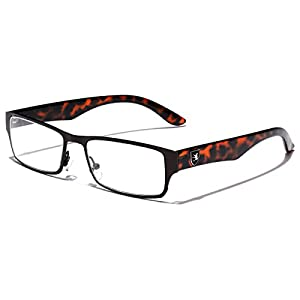 Men's Women's Rectangle Clear Lens Sunglasses RX Optical Eye Glasses