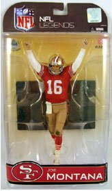 McFarlane NFL Legends Series 4 - Joe Montana