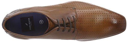 Daniel Hechter 811126021100 - Zapatos de cordones derby Hombre Marrón - Braun (cognac 6300)