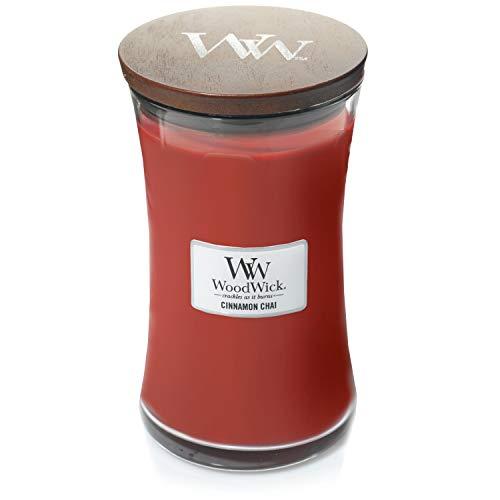 - Woodwick Candle Cinnamon Chai