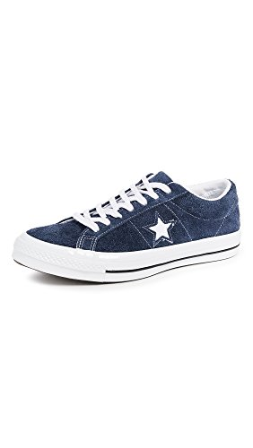 Converse Men's One Star Suede Low Top Sneakers, Navy, Blue, 10 M US