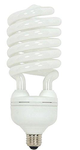 TCP 68968 CFL Spring A Lamp - 300 Watt Equivalent (only 68W used) Soft White (2700k) Spiral Light Bulb - Medium (E26) Base