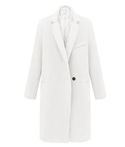 Slim Femme d'hiver Casual Jacket Trench Manteau Manteau Chaud wEHEAq7WP1