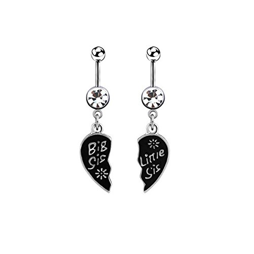 sister belly rings - 1