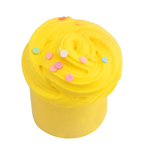 Slime 100ML Fluffy Cloud Slime Scented Therapeutic Putty Cotton Candy Slime ()