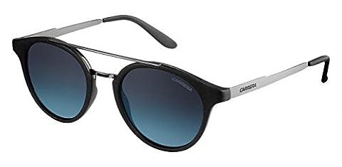 Carrera 123/S Sunglasses Black Dark Ruthenium / Gray Gradient Turquoise