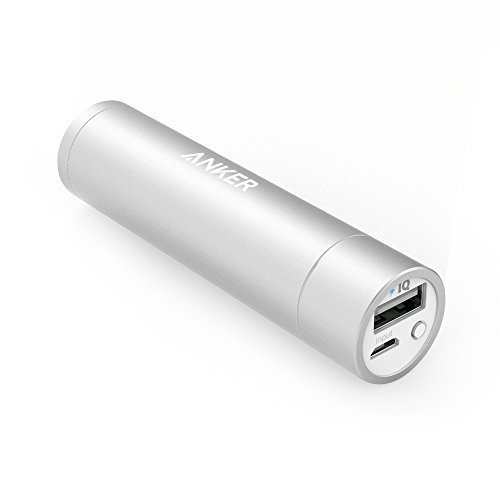 Anker PowerCore+ mini 3350mAh Lipstick-Sized Portable Charger (3rd Generation, Premium Aluminum Power Bank) One of the Most Compact External Batteries by Anker