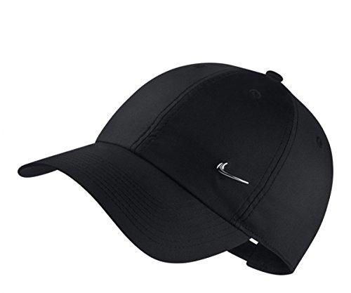 NIKE Unisex Sportswear Heritage86 Cap (Black, One Size) - Nike Running Cap