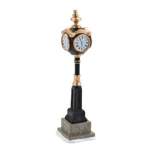 - Department 56 Accessories for Villages Uptown Clock Accessory Figurine, 5.55 inch