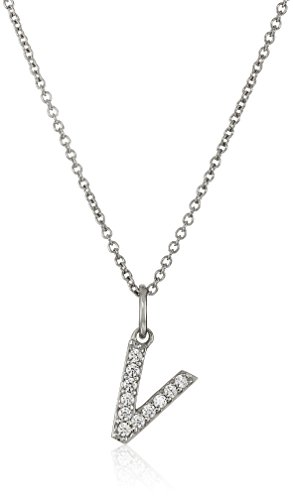 Pendant Plated Fashion Silver (Platinum Plated Sterling Silver