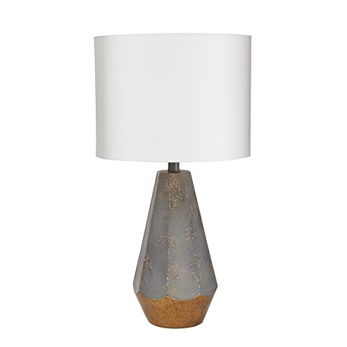 Silverwood LT1527 Rustic Prism Table Lamp with Gold Accent, 25