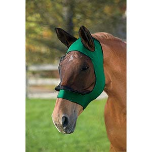 Roma Stretch Eye Saver with Ears - Size:Full Color:Hunter/Black