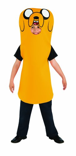 [Rubies Adventure Time Child's Jake Costume, X-Large] (Dora Costume For Adults)