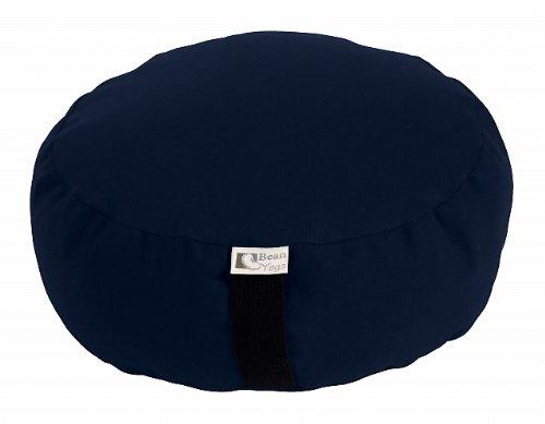 Zafuヨガ瞑想クッション有機Buckwheat fill – 10色 – 有機10oz。コットン、アメリカ製、by Bean製品   B00EZVA3D4