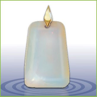 Zero Point Global Pendant - Opalite 5 ounces by Zero Point Global