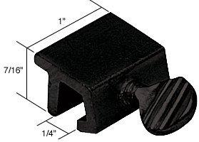 Window Double Thumb Screw Lock (Black Window Thumbscrew Lock)