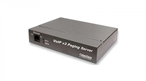 CyberData 011146 VoIP/SIP Paging Server with Bell -