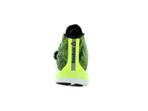 Reebok Zpump Fusion Geo Shoes - Mens Solar Yellow / Black / White
