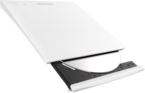SAMSUNG SE-208GB/RSWD / Samsung SE-208GBRSWD 8X USB 2.0 Slim DVD-RW External Drive (White)