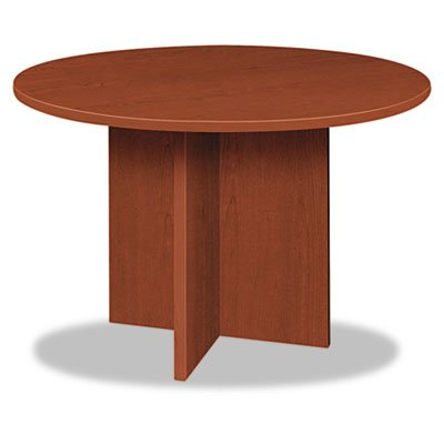 Hon Cherry Table (BL Laminate Series Round Conference Table, 48 dia. X 29 1/2h, Medium Cherry, Sold as 1 Each)