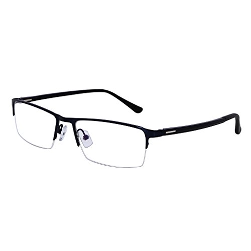 Southern Seas Everyday Use Mens Womens +1.75 Blue 1.56 High Index Lenses Half Rim Reading Glasses