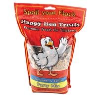 Happy Hen Treats Party Mix Sunflower and Raisin, 2-Pound (Chicken Treats)