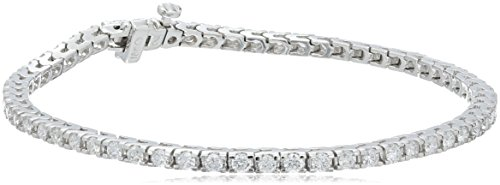 18k White Gold 4-prong Diamond Tennis Bracelet (2.0 cttw, H-I Color, SI1-SI2 Clarity), 7