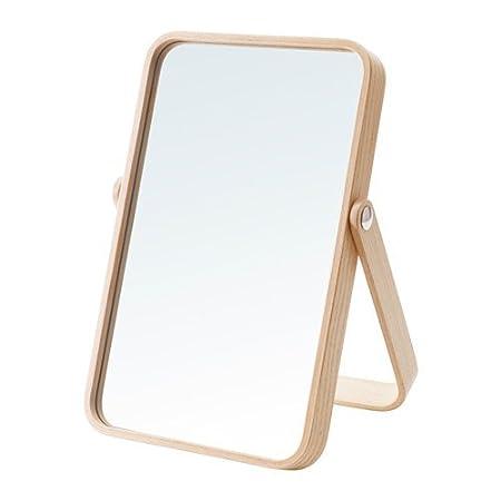IKEA Ikornnes Ash Dressing Table Mirror (27X40 CM): Amazon.co.uk ...
