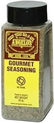 Angelos Bar-B-Que Seasoning 16oz Container (Pack of 3) (Gourmet)