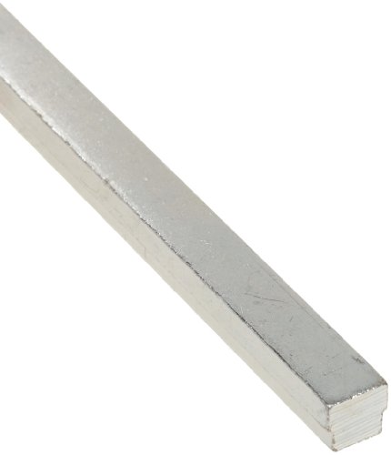 (Steel Step Key Stock For Shafts, Zinc Plated, 11/32