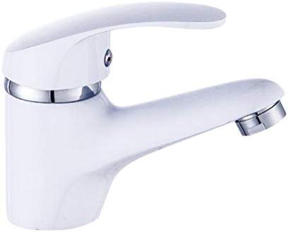 バスルームウォッシュ表家庭用の長寿命滝の蛇口銅水道水をインストールするには、水道水のフル銅簡単 (Color : Silver)