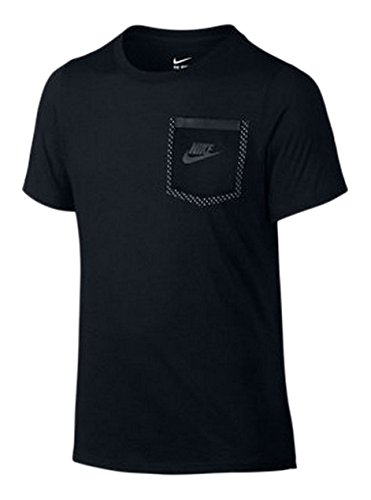 Nike Boys Tri-Blend Tech T-Shirt Black (Nike Tri Blend Fan)