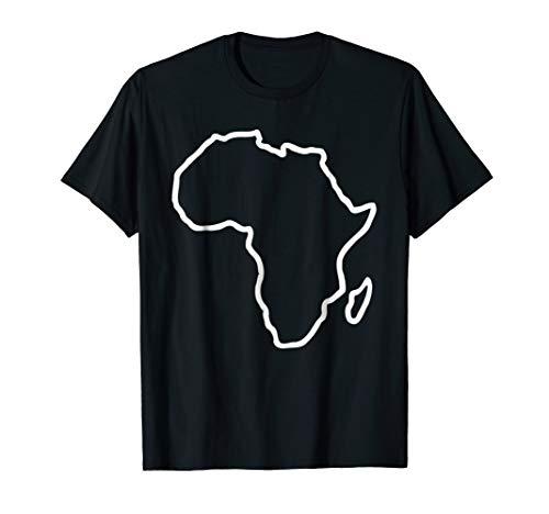 Africa map T-Shirt (Africa Map T-shirt)