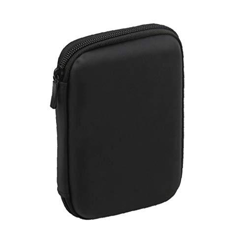 Eelabper Mini Usb 3.0 / USB 2.0 1TB externe Mobile Hard Drive 301558 Compact Portable Hard Drive Case-zwart