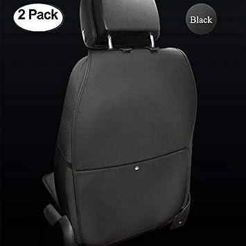 2 Pack Large Auto Kick... Luxury Car Seat Back Kick Mat Protectors By Lebogner