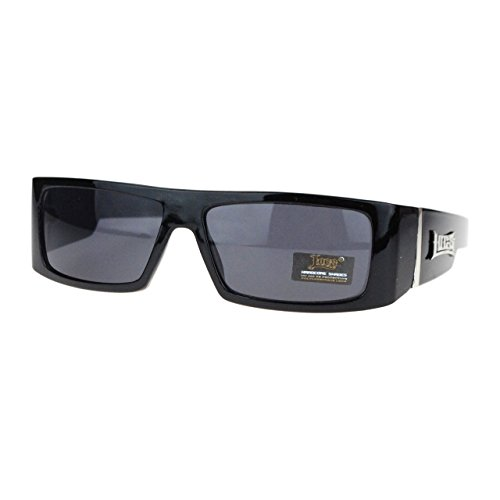 Hard Core Locs Cholo Gangster Square Rectangular Mad Dog Sunglasses - Mad Glasses Dog