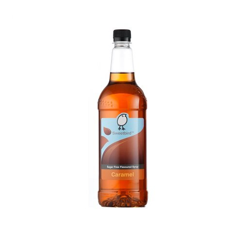Sweetbird Sirope Caramelo Sin Azúcar + Dispensador: Amazon.es: Alimentación y bebidas
