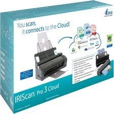 IRIScan Pro 3 Cloud Portable Color Scanner