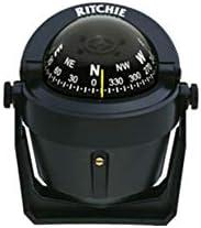 B-51 Ritchie Navigation Explorer Compass, 2 3/4-inch Dial with Braket Mount Black