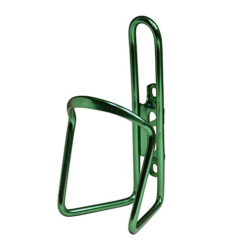 M-Wave Aluminum Water Bottle Cage, 6mm, Green