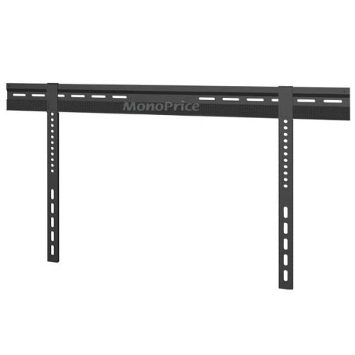 Monoprice 106434 Ultra-Slim Super Low Profile Wall Mount Bracket for 37-63 Inches LCD/LED, Black (Ultra Low Profile Wall Mount compare prices)